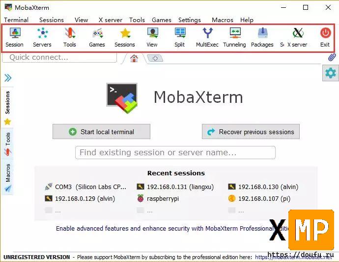 全能终端神器——MobaXterm下载